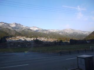 下呂温泉から飛騨高山へ向かう・・・車窓から