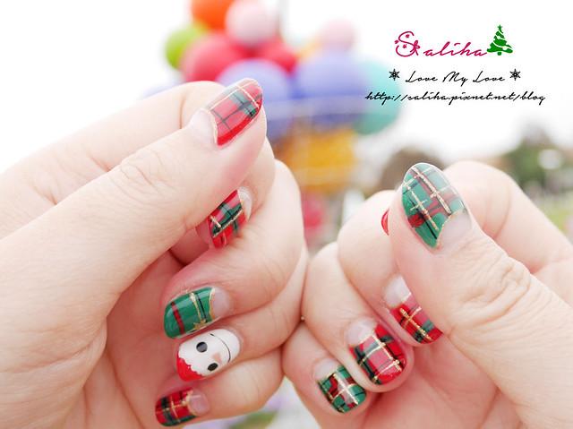中山站聖誕節美甲光療指甲 (14)