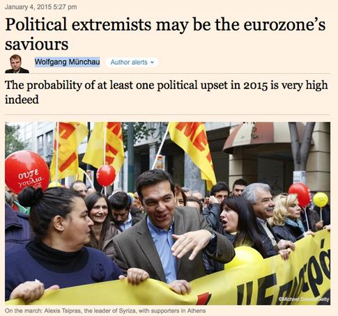 15a04 FT Syriza y Podemos pueden salvar la zona euro