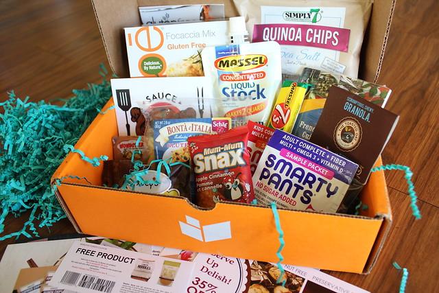 Send Me Gluten Free Box Contents