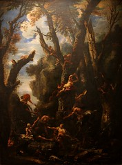 Sébastien Ricci, 1659-1734, La Tentation de Saint Antoine, musée des Beaux-Arts de Mulhouse