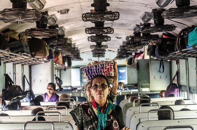 india, train, symmetry