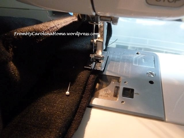 Hemming pants 8