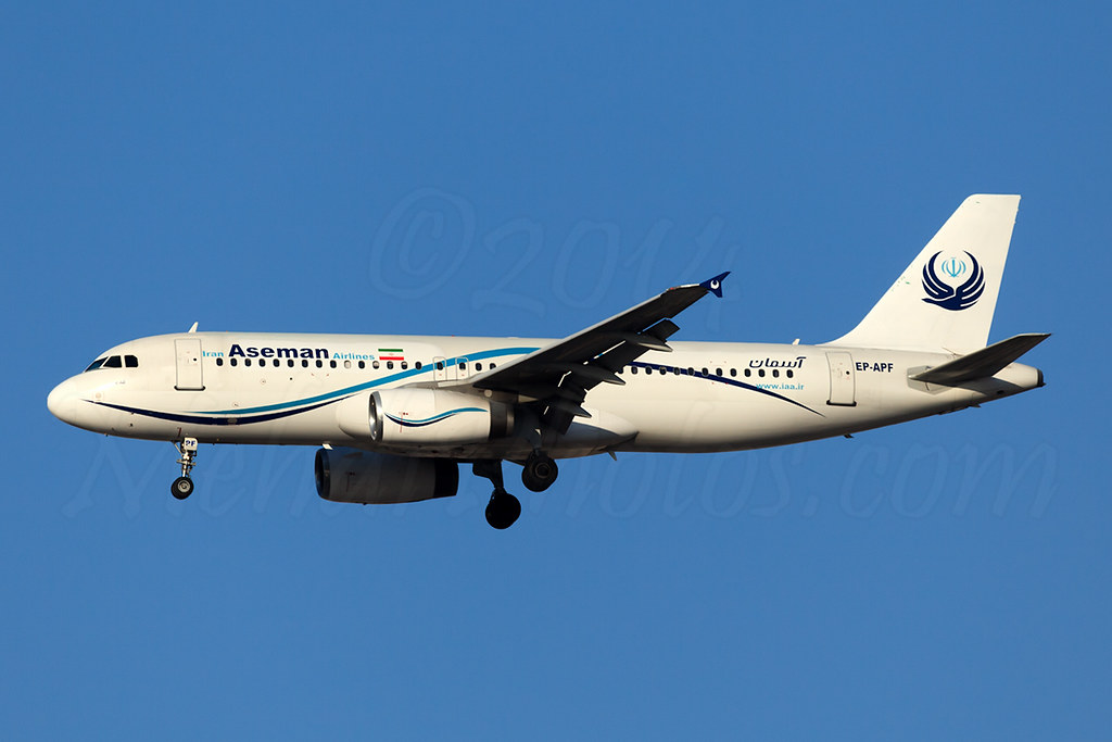 Iran Aseman Airline A320
