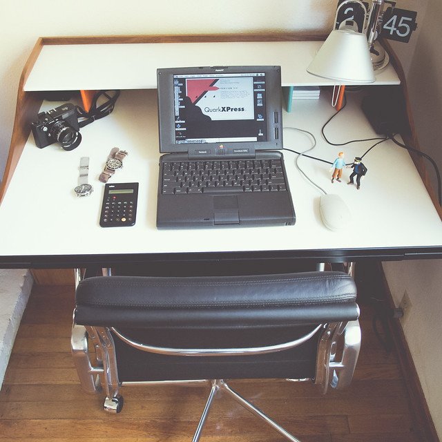 Unclutter In Style: Flickr: The Unclutterer Workspaces Pool