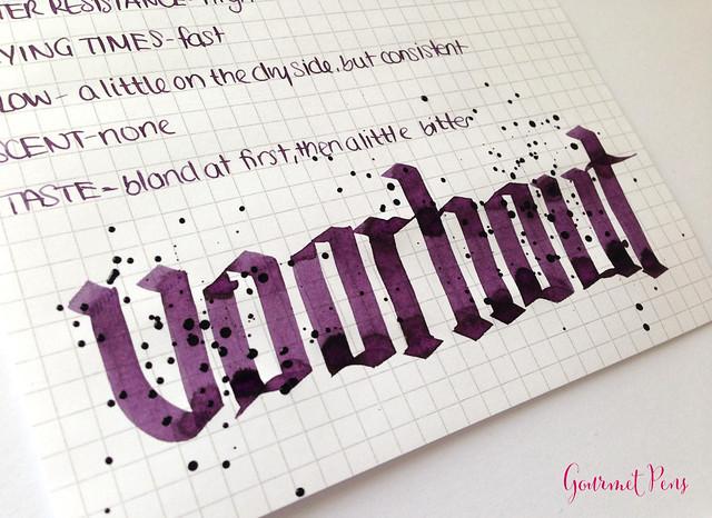 Ink Tasting Tuesday Review: P.W Akkerman Voorhout Violet Ink