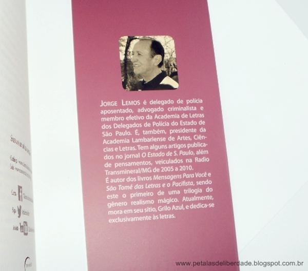Sobre, escritor, Jorge Lemos, livro