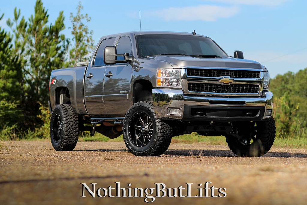 "Chevy And Gmc Duramax Diesel Forum >> 2008 2500HD / 6"" RCX / Toyos / 20x10 - Chevy and GMC ..."