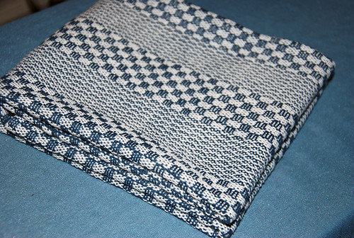 Handwoven Keep it Simple KISS cotton kitchen towel