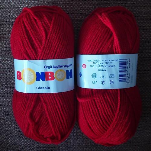 NAKO BONBON Classic red