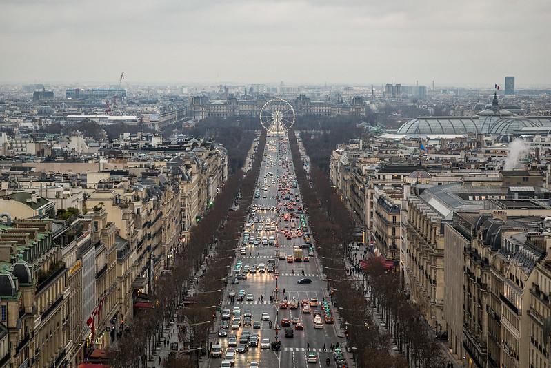 Champs-Élysées | Arc De Triomphe View