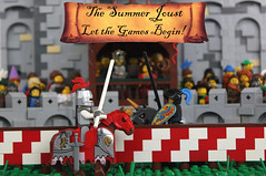 The Summer Joust has started!
