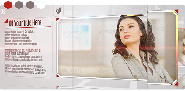 Custom-Color Glass Corporate Displays 1