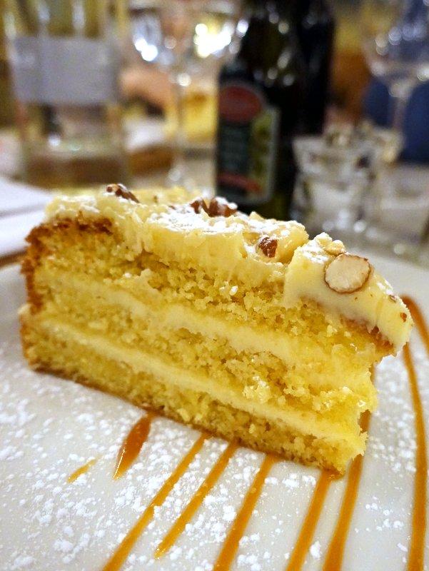 Remo's Liberta Cafe- Amaretto Cake R45
