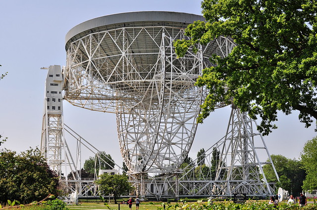 Lovell radio telescope at Jodrell Bank