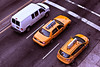 Taxi in Bowery, New York