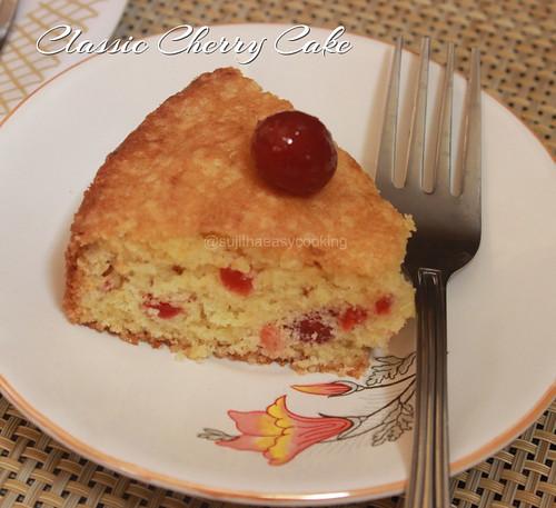 Classic Cherry Cake