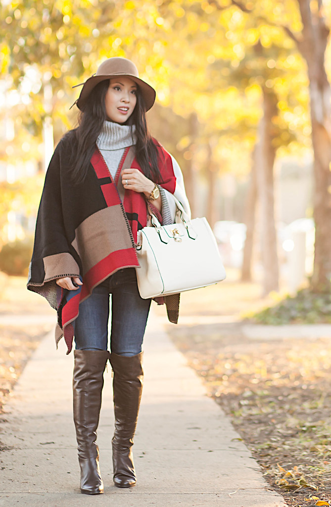 Burberry Look-For-Less :: Checked Blanket Poncho - cute & little ...