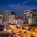 Downtown Denver Skyline at Blue Hour From LoDo by Bridget Calip - Alluring Images