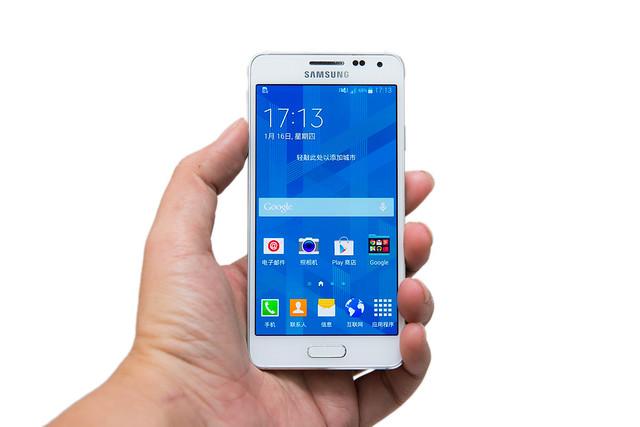 Samsung GALAXY Alpha 開箱美圖 @3C 達人廖阿輝