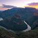 Blyde River Canyon Sunrise Panorama by Panorama Paul