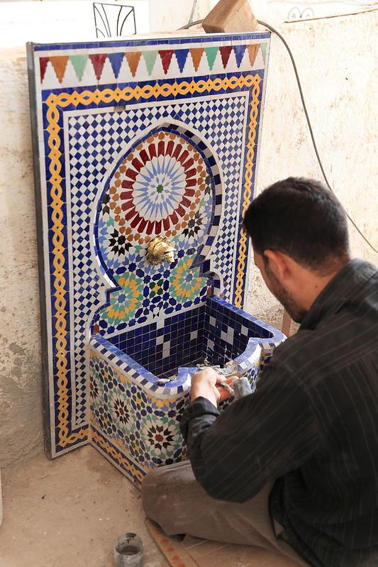 Mosaic fixer