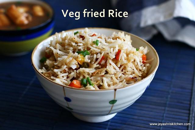 Veg-fried -rice