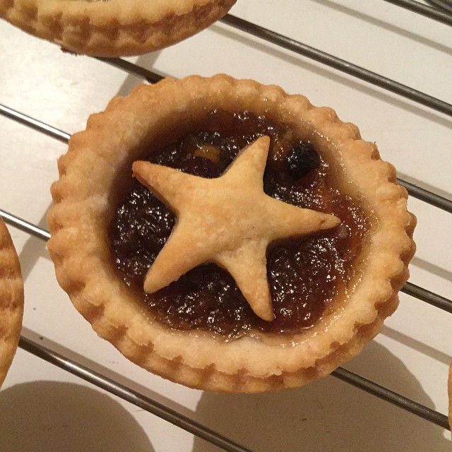 Pie time! I hope @runnergmcc gets home quickly.... #christmas #mincepies #warmfromtheoven