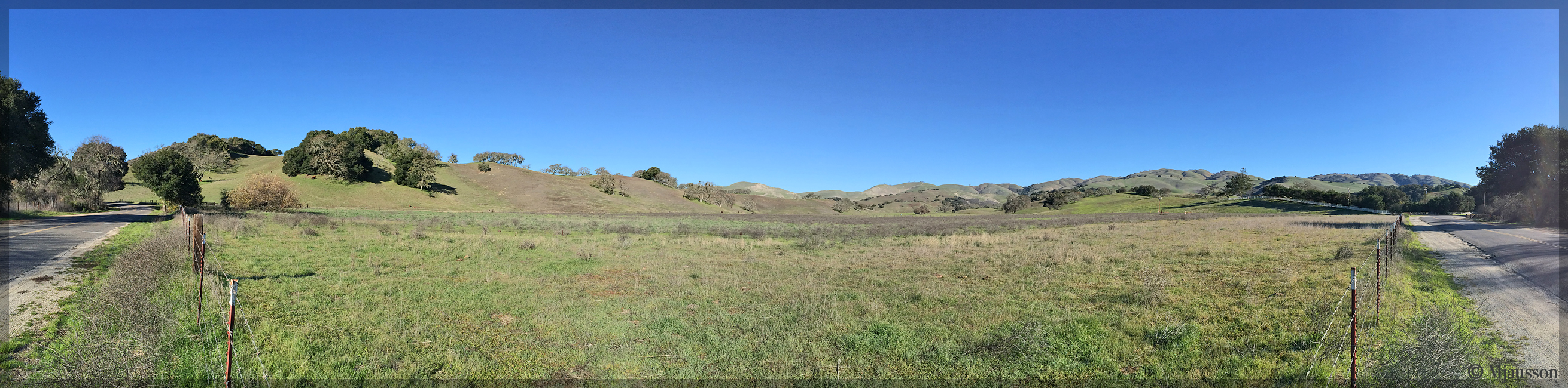 Carmel Valley Road Panorama 1
