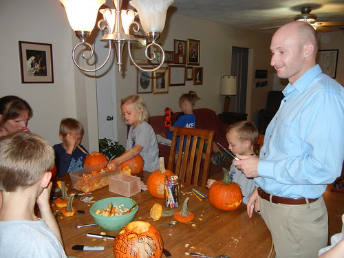 Oct 17 2014 Doller pumpkin carving (9)