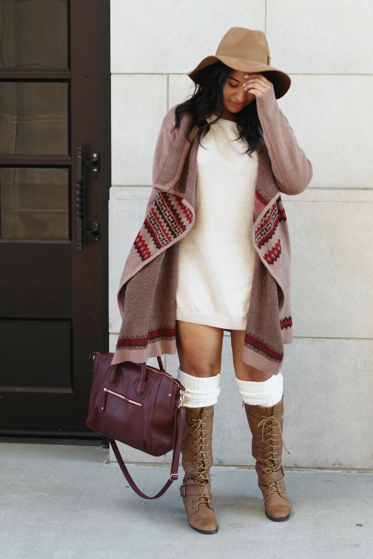 Fall Sweater Dress