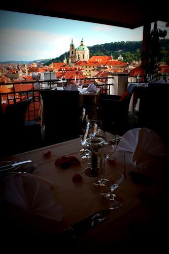 Restaurantes com vistas em Praga