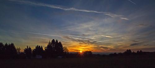 morning sky fall sunshine oregon sunrise walnuthill