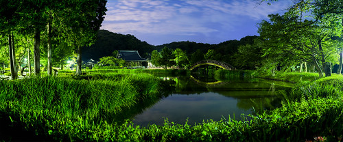 panorama night view 夜景 パノラマ shoumyouji 横浜 金沢文庫 称名寺