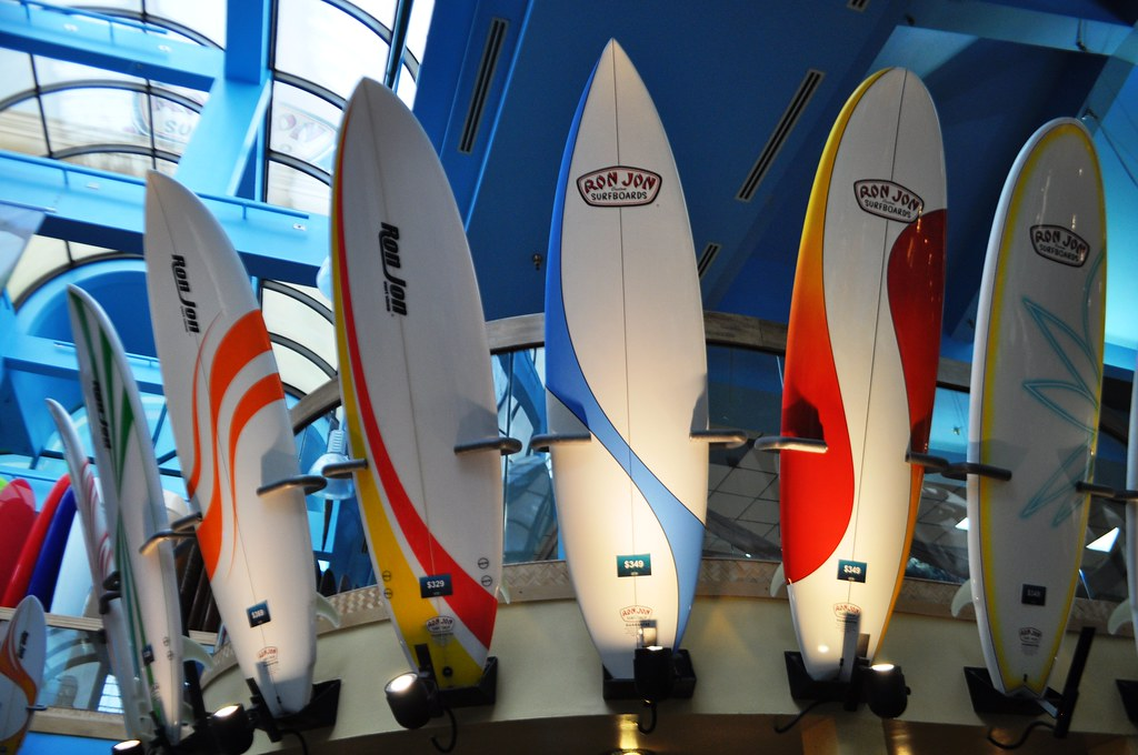 Surfboards - Ron Jon Surf Shop, Cocoa Beach, Fla., Nov. 8, 2014