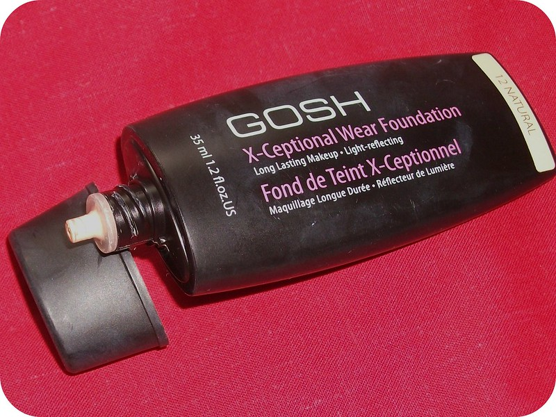 GOSH X-Ceptional Wear Foundation 12 Natural Review