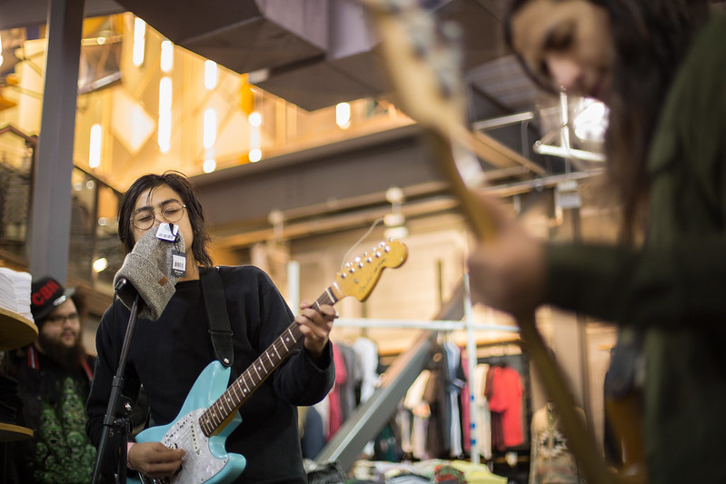 Nathan Ma and the Rosettes at Urban Outfitters | 11-7-2014