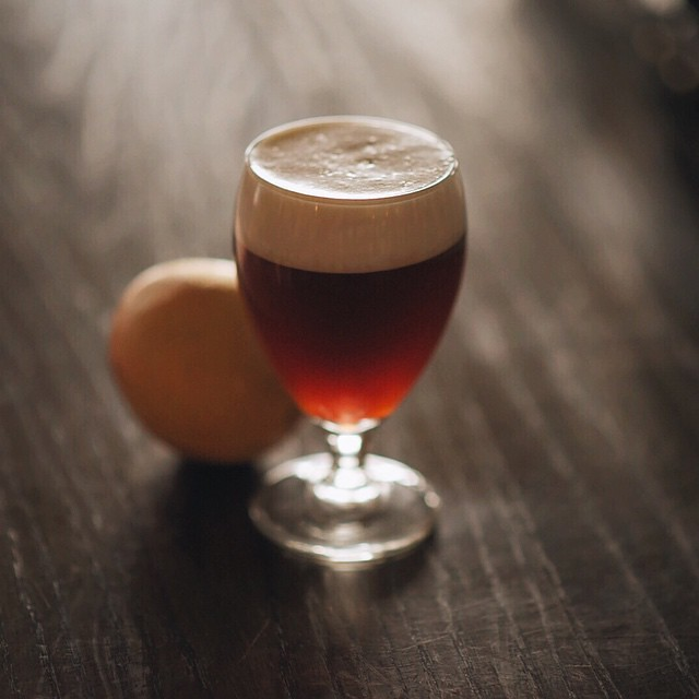 *Winter Drink* The Irish Whisker: A riff off traditional Irish Coffee which combines the deepness of coffee, sweet cream, subtle star anise and orange zest, with a spritz of a Jameson Irish Whiskey reduction.