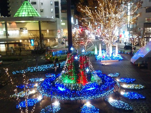 Takasaki Station Winter illumination