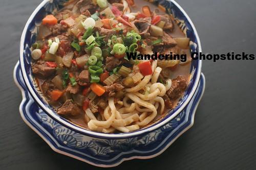 Uzbek Lagman (Lamb Noodle Soup) 1