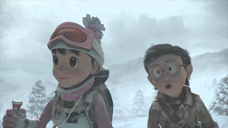 Adult Nobita and Shizuka