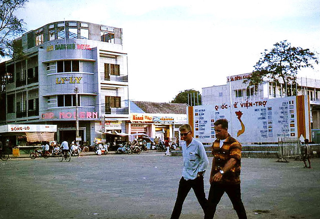 The Flags at Vung Tau 1967 - Photo by Bruce Tremellen