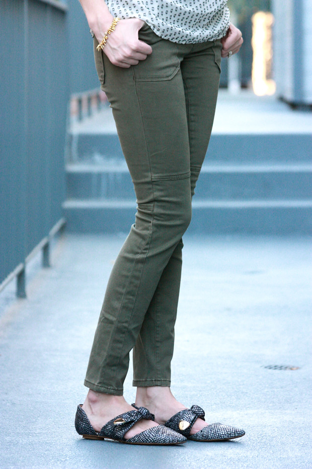 Moto Jeans, Anthropologie flats