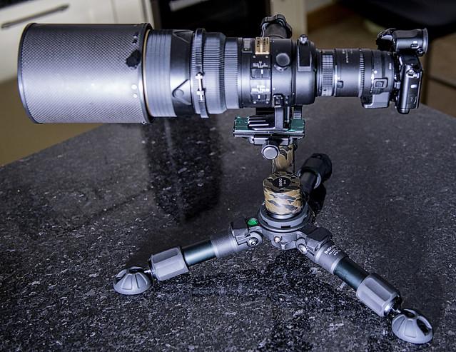 Nikon V3 Power equivalent Focal lens of 1620mm  @ F5.6