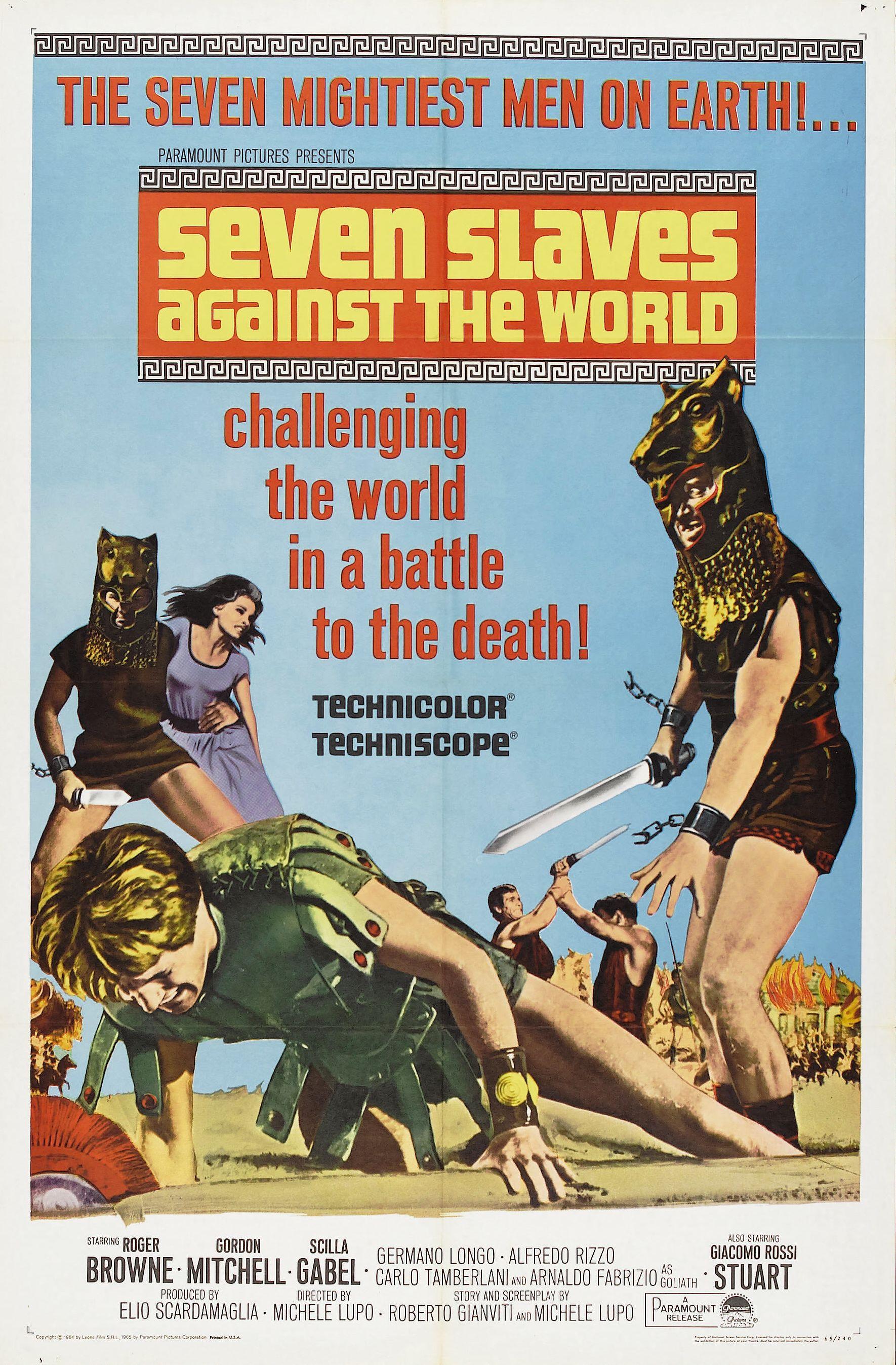 Seven Slaves Against the World (1964)