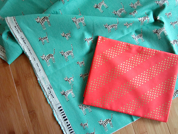 fabrics from Mad About Patchwork!
