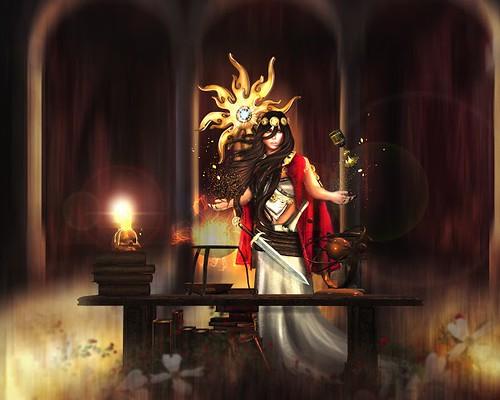 Curse of the Tarot: THE MAGICIAN