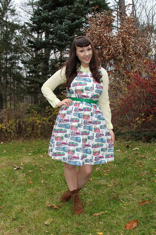 train dress