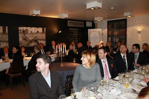 British Week Opening Gourmet Dinner at La Bohème restaurant