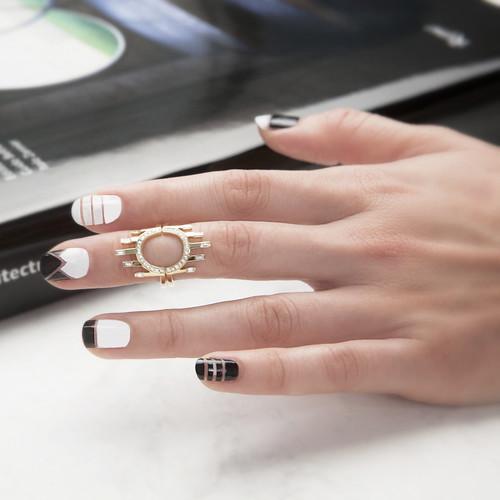 Halo Midi Rings